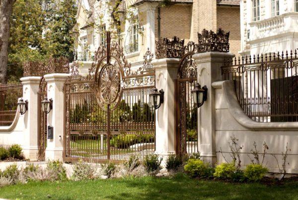 Bridalpath entrance gate