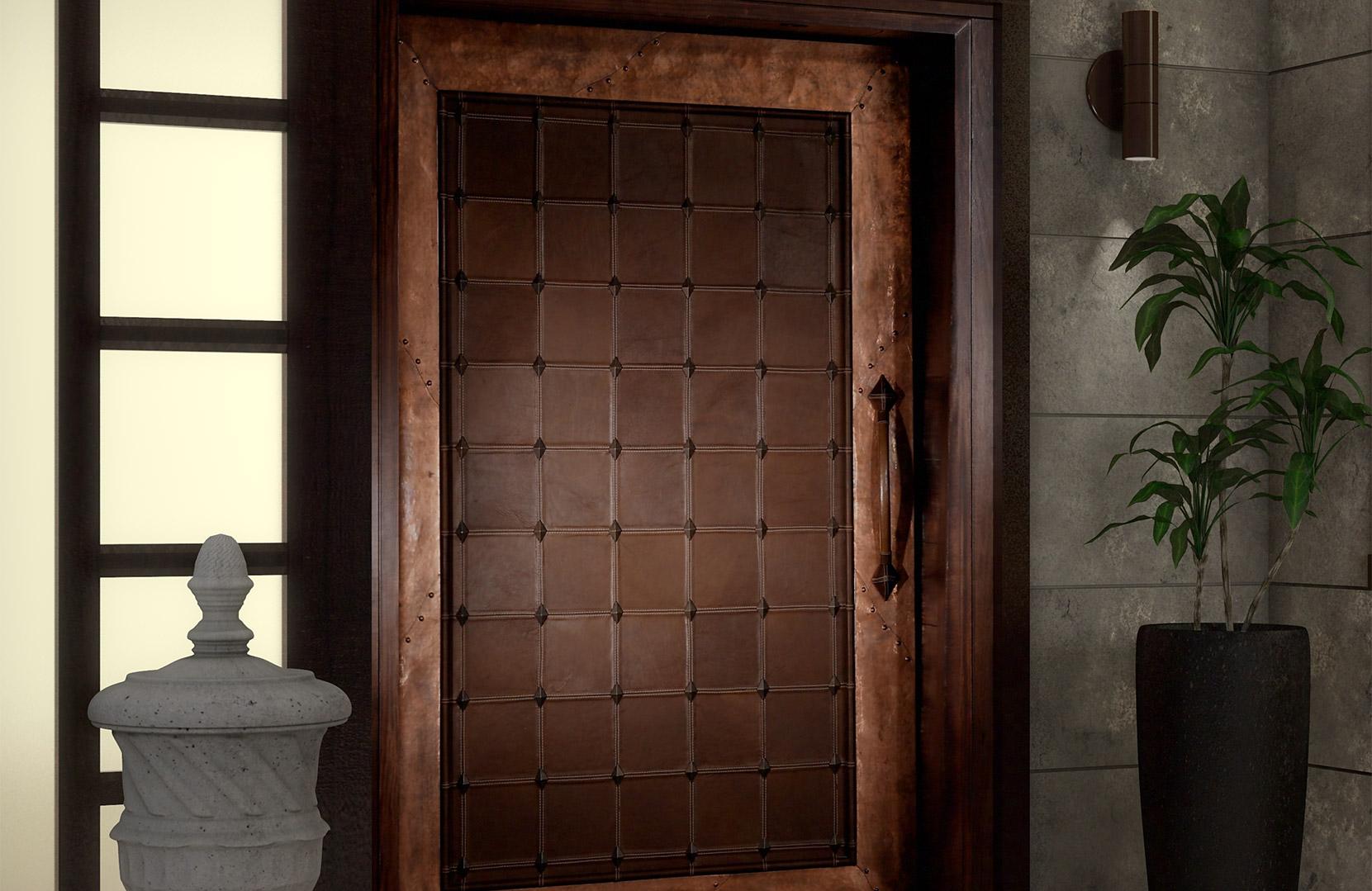 6 Unique and Artistic Exterior Front Door Designs for 2021