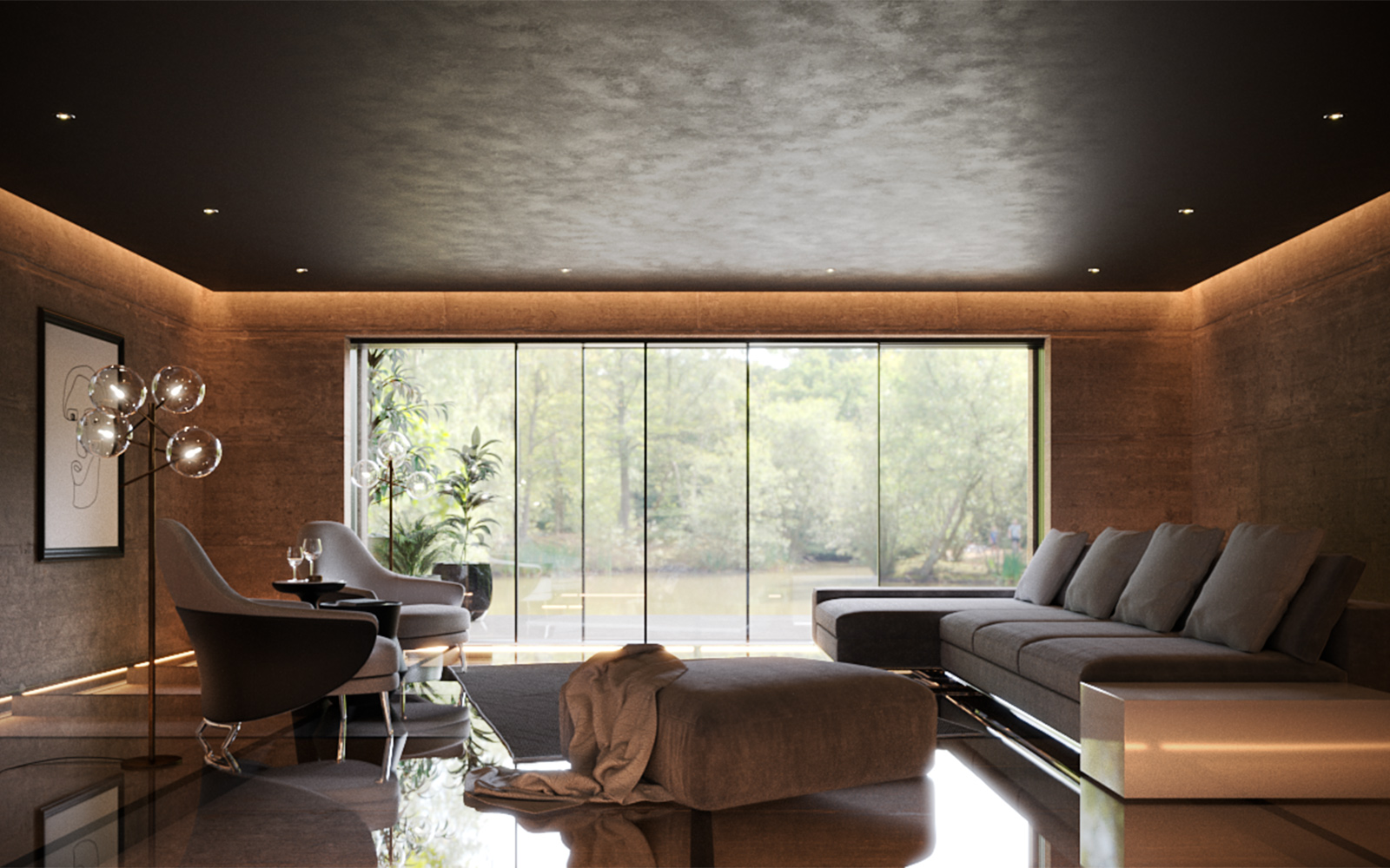 6 Luxurious Contemporary Interior Design Ideas for Your Estate